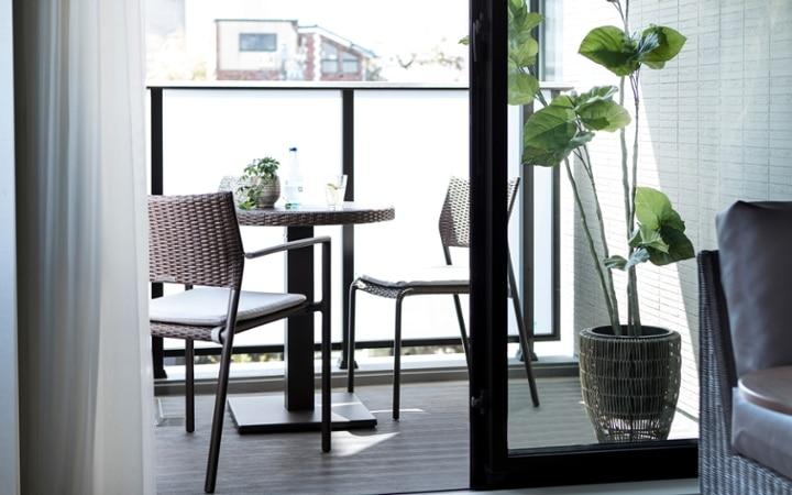 No.123 都会のリゾートを感じる 1LDKマンションの家具・インテリアコーディネート:画像10