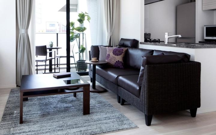 No.123 都会のリゾートを感じる 1LDKマンションの家具・インテリアコーディネート:画像5