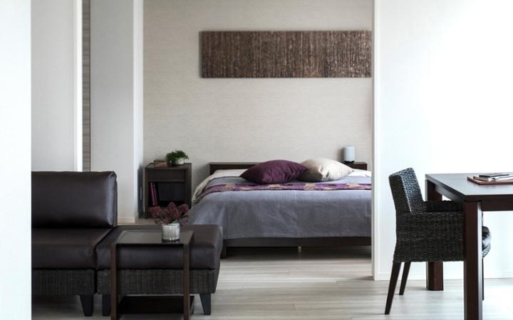 No.123 都会のリゾートを感じる 1LDKマンションの家具・インテリアコーディネート:画像12