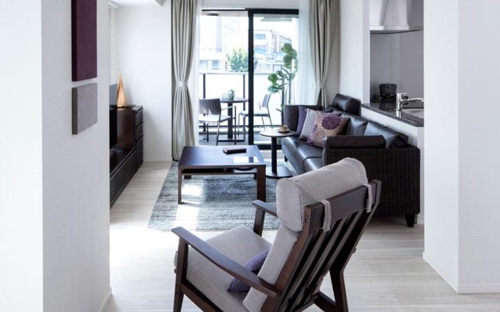No.123 都会のリゾートを感じる 1LDKマンションの家具・インテリアコーディネート:画像3