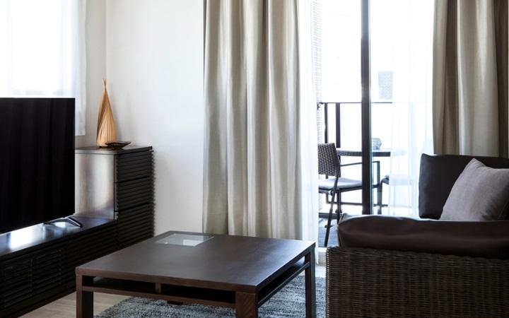No.123 都会のリゾートを感じる 1LDKマンションの家具・インテリアコーディネート:画像9