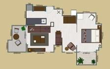 No.123 都会のリゾートを感じる 1LDKマンションの家具・インテリアコーディネート:画像41