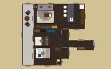 No.124 都会を一望できるタワーマンションのインテリアコーディネート:画像26
