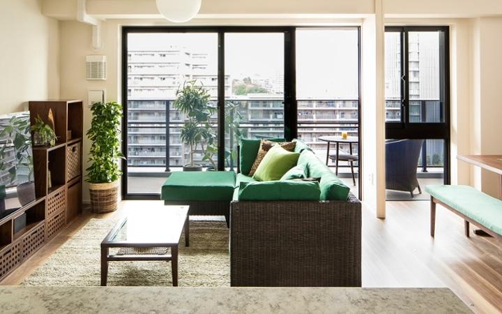 No.125 目黒川沿いのグリーンと調和するマンション3LDKのインテリアコーディネート:画像7