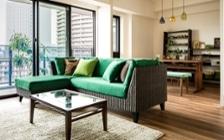 No.125 目黒川沿いのグリーンと調和するマンション3LDKのインテリアコーディネート:画像1