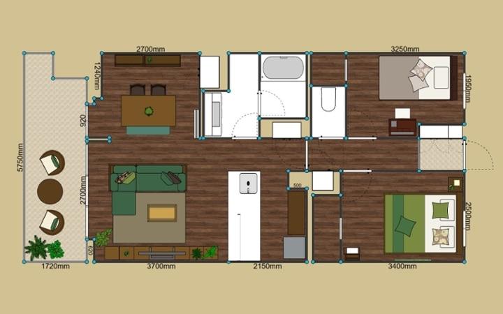 No.125 目黒川沿いのグリーンと調和するマンション3LDKのインテリアコーディネート:画像19