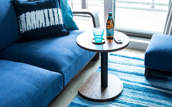 No.127 ブルーが映えるビーチスタイルの西海岸風インテリア ~海のようなリゾート空間をマンションで実現~:画像12