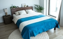 No.127 ブルーが映えるビーチスタイルの西海岸風インテリア ~海のようなリゾート空間をマンションで実現~:画像16