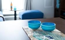 No.127 ブルーが映えるビーチスタイルの西海岸風インテリア ~海のようなリゾート空間をマンションで実現~:画像9