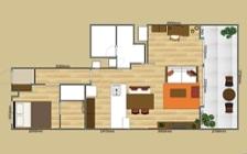 No.129 無垢材の家具でトータルコーディネート ~ぬくもり感じる赤の空間~:画像18