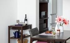 No.135 一人暮らし・1LDK(LD10畳+6畳) ~ピンク×グレーのカラーで彩るインテリアコーディネート~