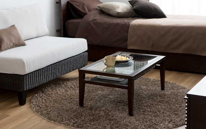 No.136 一人暮らし・ワンルーム(6畳) ~コンパクトな空間にソファのある暮らし~:画像4