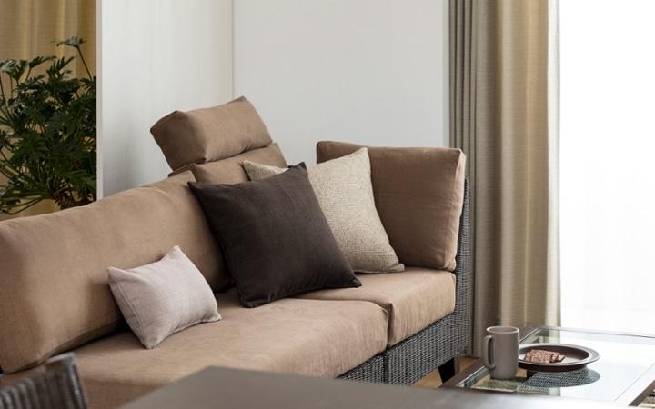 No.137 一人暮らし・1LDK(LD10畳+6畳) ~ユニット家具を組み合わせて住み替え後も快適に過ごす~:画像6