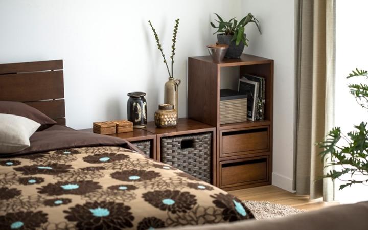 No.137 一人暮らし・1LDK(LD10畳+6畳) ~ユニット家具を組み合わせて住み替え後も快適に過ごす~:画像17