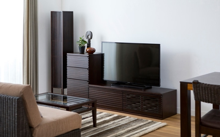 No.137 一人暮らし・1LDK(LD10畳+6畳) ~ユニット家具を組み合わせて住み替え後も快適に過ごす~:画像3