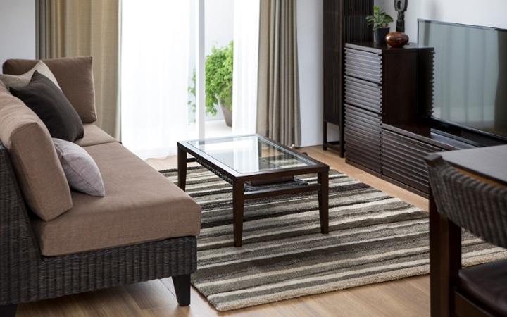 No.137 一人暮らし・1LDK(LD10畳+6畳) ~ユニット家具を組み合わせて住み替え後も快適に過ごす~:画像2