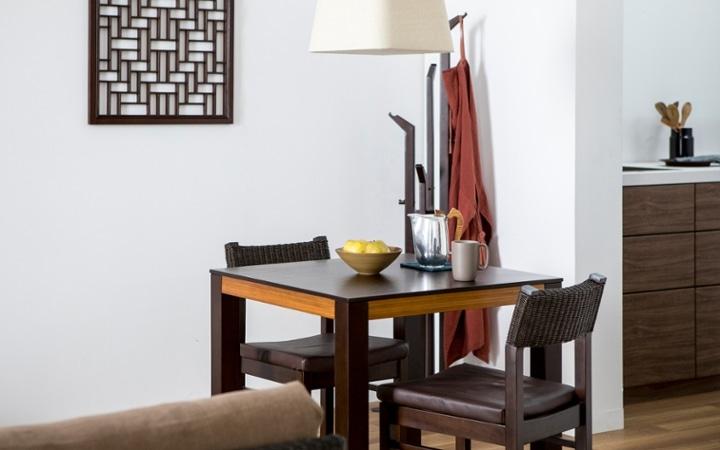 No.137 一人暮らし・1LDK(LD10畳+6畳) ~ユニット家具を組み合わせて住み替え後も快適に過ごす~:画像10