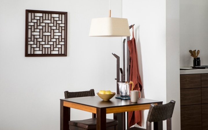 No.137 一人暮らし・1LDK(LD10畳+6畳) ~ユニット家具を組み合わせて住み替え後も快適に過ごす~:画像9