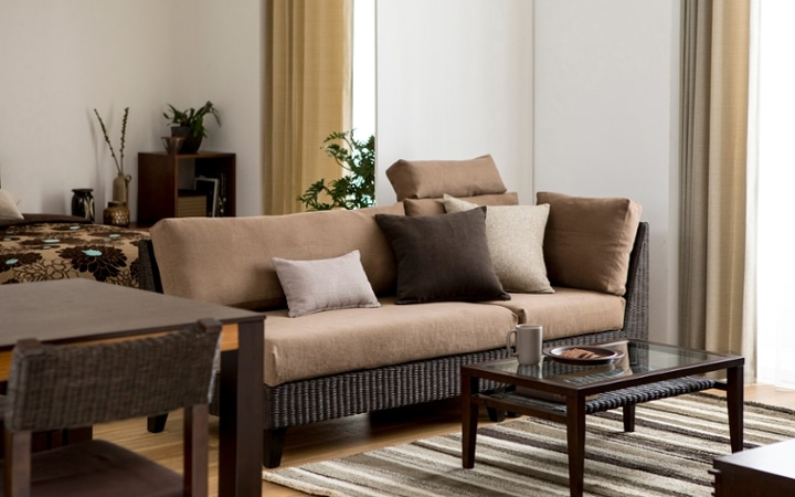 No.137 一人暮らし・1LDK(LD10畳+6畳) ~ユニット家具を組み合わせて住み替え後も快適に過ごす~:画像4