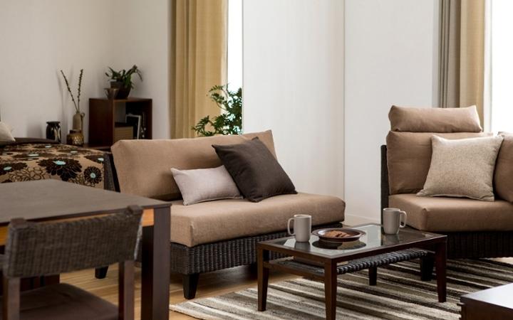 No.137 一人暮らし・1LDK(LD10畳+6畳) ~ユニット家具を組み合わせて住み替え後も快適に過ごす~:画像5