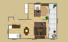 No.137 一人暮らし・1LDK(LD10畳+6畳) ~ユニット家具を組み合わせて住み替え後も快適に過ごす~:画像23