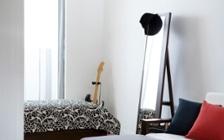 No.139 一人暮らし・1LDK(LD8畳+4.5畳) ~モノトーンインテリア中心のスタイリッシュな部屋~:画像6