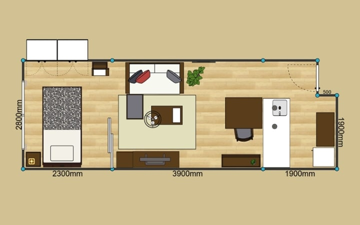 No.139 一人暮らし・1LDK(LD8畳+4.5畳) ~モノトーンインテリア中心のスタイリッシュな部屋~:画像15