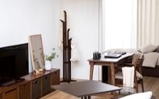 No.143 一人暮らし・1LDK(LD8畳+4.5畳) ~デスク・机のある仕事や勉強しやすい部屋~