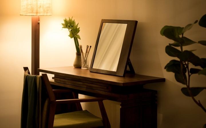 No.144 一人暮らし・ワンルーム(12畳) ~間仕切りでワンルームを二つに分けたヴィラ風リゾート空間~:画像11