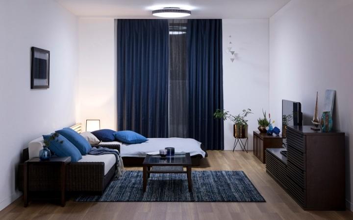 No.146 一人暮らし・ワンルーム(12畳) ~ローソファを中心とした開放感のあるロースタイルな部屋~:画像11