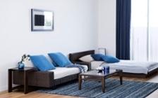 No.146 一人暮らし・ワンルーム(12畳) ~ローソファを中心とした開放感のあるロースタイルな部屋~