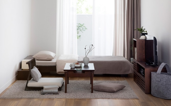 No.152 一人暮らし・ワンルーム(6畳) ~ほっこり過ごせる床座生活の部屋~:画像1