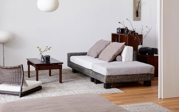 No.153 一人暮らし・1LDK(LD10畳+6畳) ~趣を感じる和モダンインテリア・家具で安らげる暮らし~:画像1