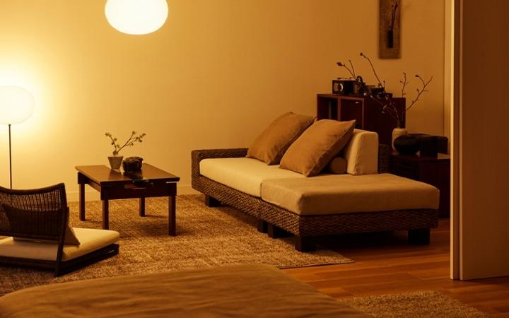 No.153 一人暮らし・1LDK(LD10畳+6畳) ~趣を感じる和モダンインテリア・家具で安らげる暮らし~:画像12