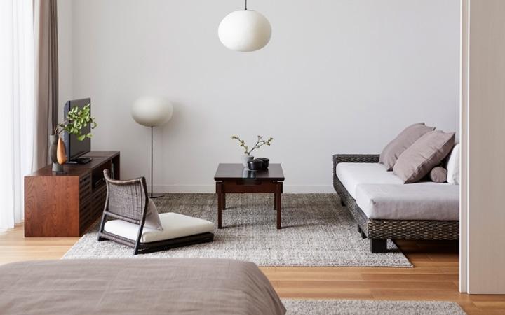 No.153 一人暮らし・1LDK(LD10畳+6畳) ~趣を感じる和モダンインテリア・家具で安らげる暮らし~:画像2