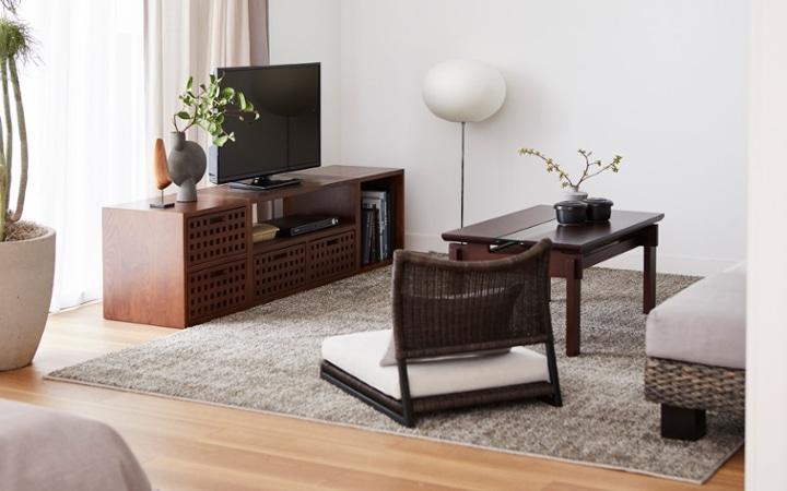 No.153 一人暮らし・1LDK(LD10畳+6畳) ~趣を感じる和モダンインテリア・家具で安らげる暮らし~:画像3