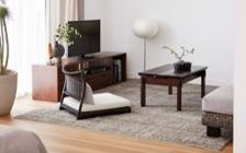 No.153 一人暮らし・1LDK(LD10畳+6畳) ~趣を感じる和モダンインテリア・家具で安らげる暮らし~:画像4