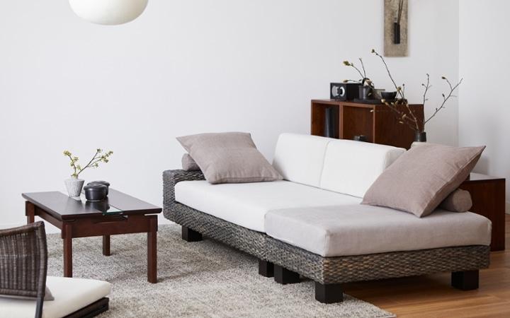 No.153 一人暮らし・1LDK(LD10畳+6畳) ~趣を感じる和モダンインテリア・家具で安らげる暮らし~:画像6