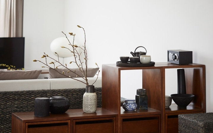 No.153 一人暮らし・1LDK(LD10畳+6畳) ~趣を感じる和モダンインテリア・家具で安らげる暮らし~:画像8