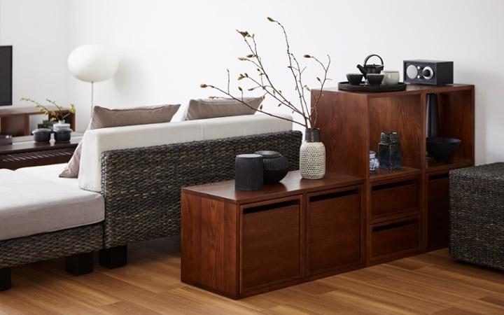 No.153 一人暮らし・1LDK(LD10畳+6畳) ~趣を感じる和モダンインテリア・家具で安らげる暮らし~:画像9