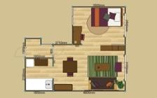 No.155 一人暮らし・1LDK(LD10畳+6畳) ~ホテルライクな部屋でシングルライフを優雅に過ごす~:画像22