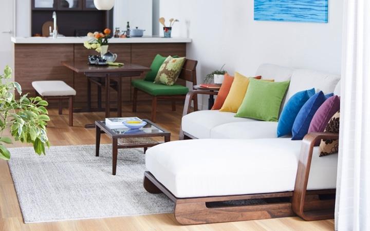 No.157 一人暮らし・1LDK(LD14畳+8畳) ~ハワイアンな虹色をイメージした鮮やかなインテリアコーディネート~:画像11