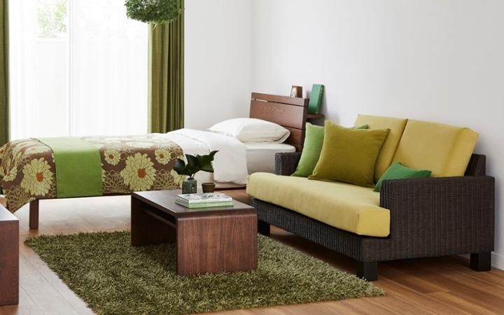No.165 森のような癒しを感じる部屋の作り方 【ラタン素材+グリーン】:画像5