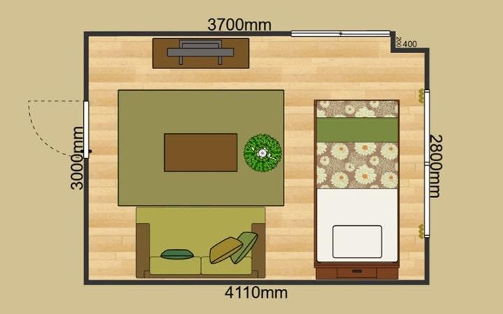 No.165 森のような癒しを感じる部屋の作り方 【ラタン素材+グリーン】:画像9