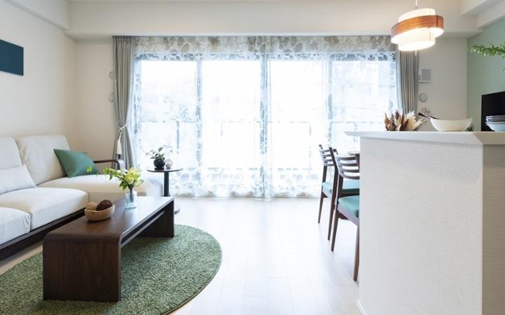 No.172 家族で寛ぎやすい家具・インテリアが充実したリビングダイニング:画像1