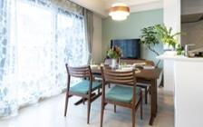 No.172 家族で寛ぎやすい家具・インテリアが充実したリビングダイニング