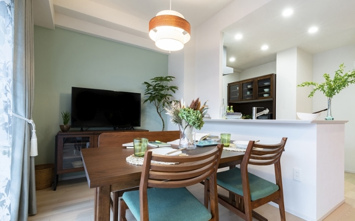 No.172 家族で寛ぎやすい家具・インテリアが充実したリビングダイニング:画像10