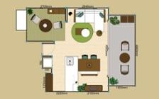 No.172 家族で寛ぎやすい家具・インテリアが充実したリビングダイニング:画像17