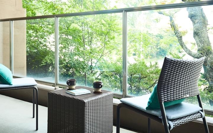 No.178 軽井沢の緑豊かな自然を感じる別荘のインテリアコーディネート:画像27