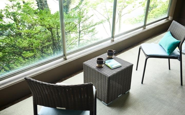 No.178 軽井沢の緑豊かな自然を感じる別荘のインテリアコーディネート:画像12